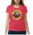 Женская футболка с принтом Guns N Roses