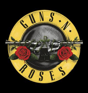 Футболка с принтом Guns N Roses