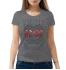 Женская футболка с принтом AC-DC