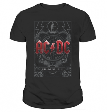 Футболка с принтом AC-DC