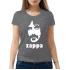 Женская футболка с принтом Zappa
