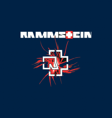 Футболка с принтом Rammstein