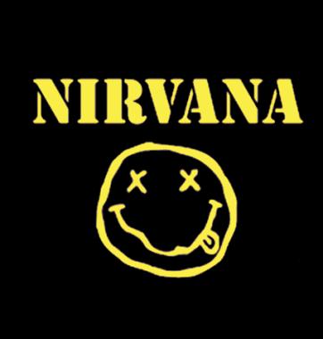 Футболка с принтом Nirvana