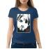 Женская футболка с принтом Kurt cobain