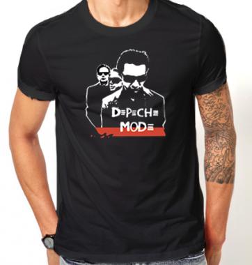 Футболка с принтом Depeche Mode