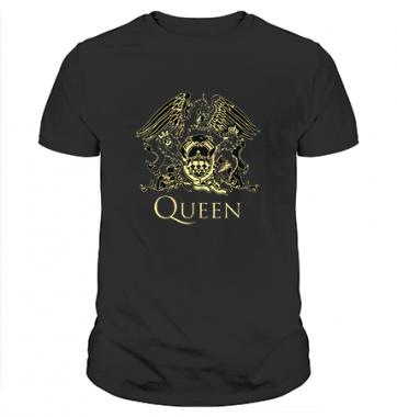 Футболка с принтом Queen