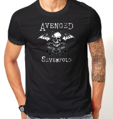Футболка с принтом Avenged Sevenfold