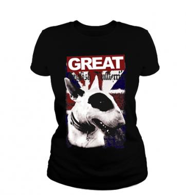 Женская футболка с принтом Great