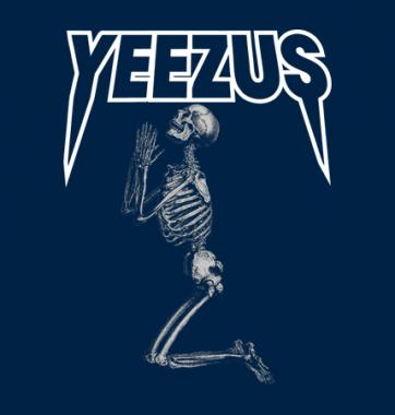 Женская футболка с принтом Скелет