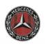 Футболка с принтом Mercedes benz