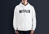 Худи с принтом Netflix