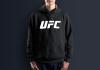 Худи с принтом UFC