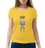 Женская футболка с принтом Doggy style