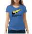 Женская футболка с принтом Can`t somebogy else just do it?
