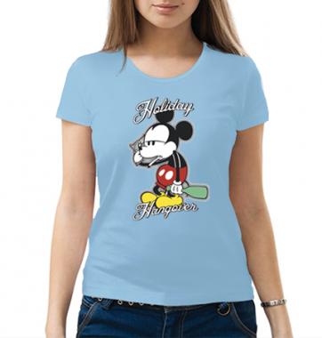 Женская футболка с принтом Holiday Hangarer
