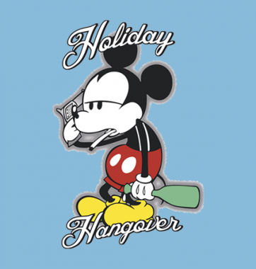 Футболка с принтом Holiday Hangarer