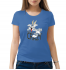 Женская футболка с принтом Totally crazy
