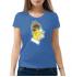 Женская футболка с принтом Гомер Симпсон