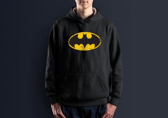Худи с принтом Бэтмен