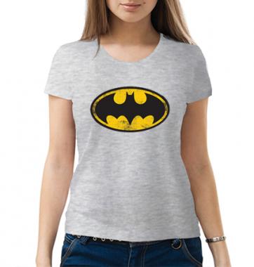 Женская Футболка с принтом Batman