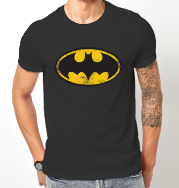 Футболка с принтом Batman