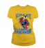 Женская футболка с принтом Kiss me I have Supers powers