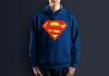 Худи с принтом Супермен