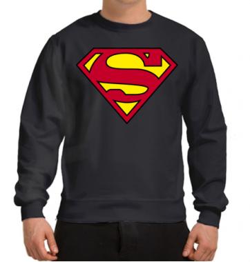 Свитшот с принтом Superman
