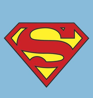Футболка с принтом Супермэн