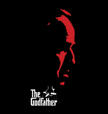 Футболка с принтом The Godfather 2