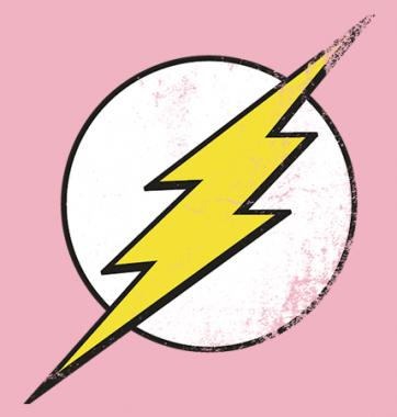 Футболка с принтом FlashMan