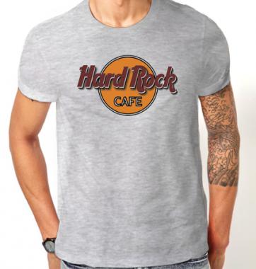 Футболка с принтом Hard Rock