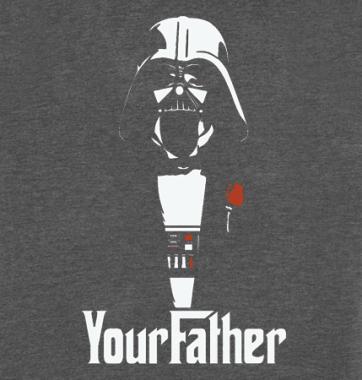 Футболка с принтом Your Father