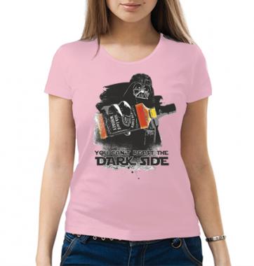 Женская футболка с принтом Dark side
