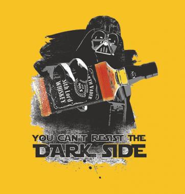 Футболка с принтом Dark side