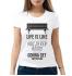Женская футболка с принтом Life is Like