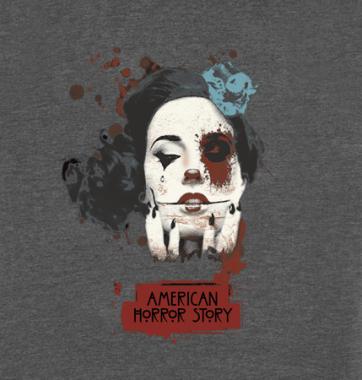 Женская футболка с принтом American horror story