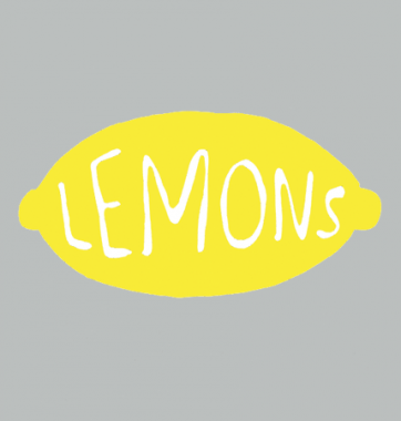 Футболка с принтом Lemons