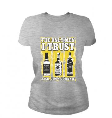 Женская футболка с принтом Джек дениелс