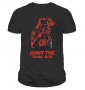 Футболка с принтом Joint the dark side