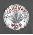 Женская футболка с принтом Original weed