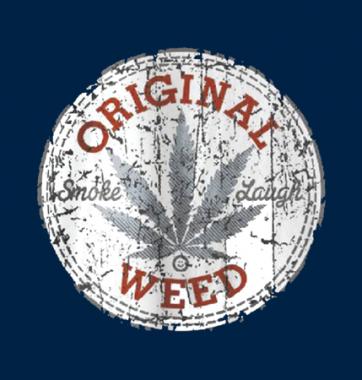 Футболка с принтом Original weed