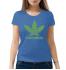 Женская футболка с принтом Каннабис
