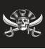 Футболка с принтом Пираты карибского моря