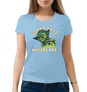 Женская футболка с принтом StarWars Gonna Hate