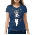 Женская футболка с принтом Rose