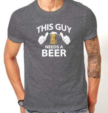 Футболка с принтом Пиво Beer