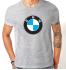 Футболка с принтом BMW