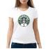 Женская футболка с принтом StarFucks