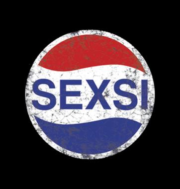 Женская Футболка с принтом Sexsi